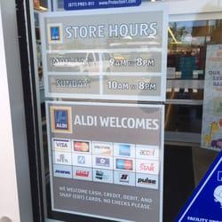 Aldi - Grocery - 8205 S Olympia Ave, Tulsa, OK - Yelp