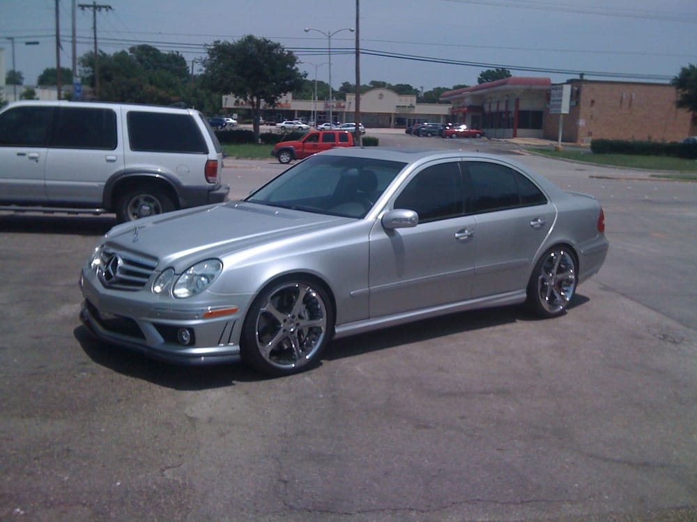 Mercedes Benz E55 Amg Legal Shade Wrap Yelp