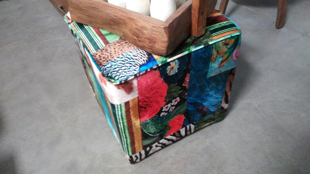 Colorful Cube Stool Yelp
