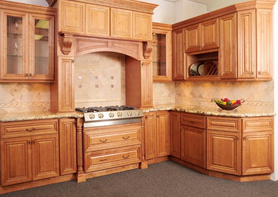 Photo Of Sanyuan Cabinets U0026 Granite   Seattle, WA, United States. Cinnamon  Maple