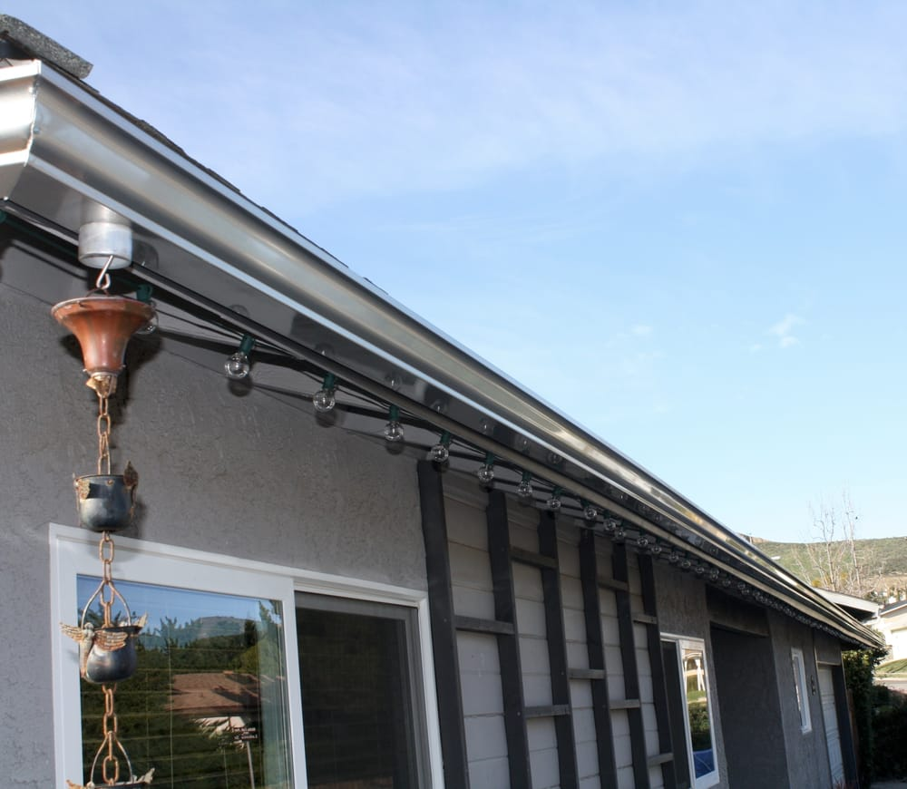 One Long Stretch Of Seamless Gutter Yelp