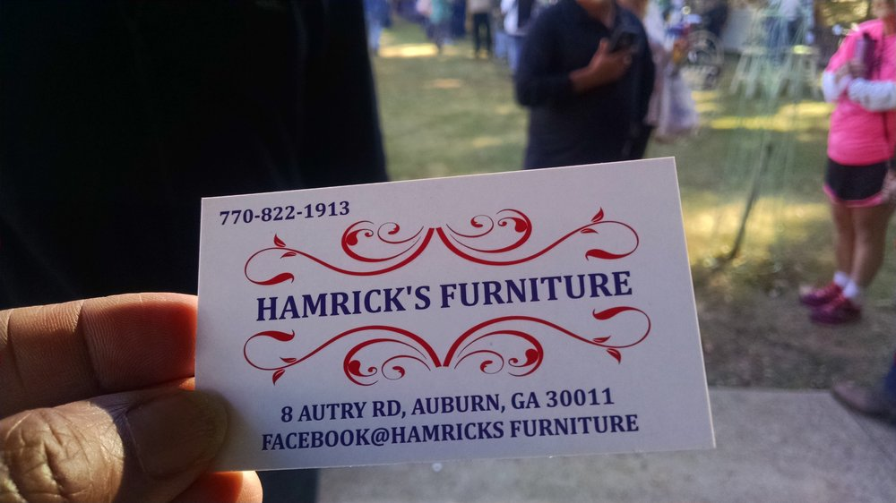 Hamrick's Furniture: 8 Autry Rd, Auburn, GA