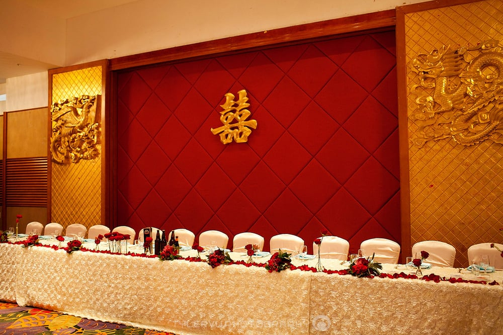 Head Table At Our Wedding Reception Back Banquet Hall In Dynasty