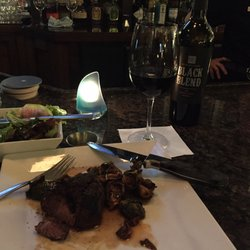 Photo Of Bayfront Grille Erie Pa United States Steak And Brussels Sprouts
