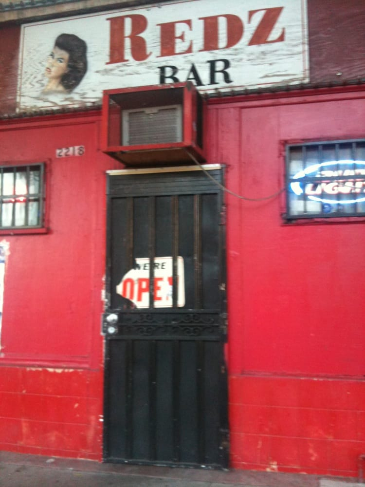 Photo of Redz Bar - Los Angeles, CA, United States. During your taco crawl stop for a beer with Chucky and the Grim Reaper.