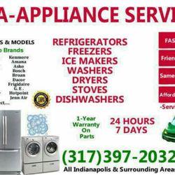A A Appliance Repair Appliances Amp Repair 8839 Depot Dr