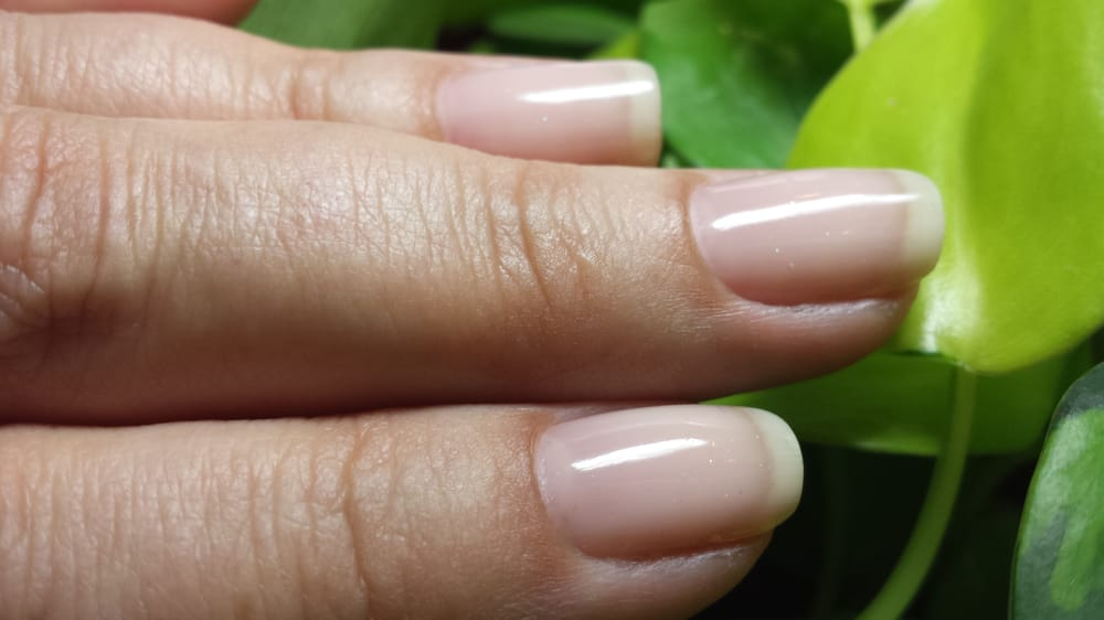 Gel: Essie Dance Class w/ CND Mother of Pearl - Yelp