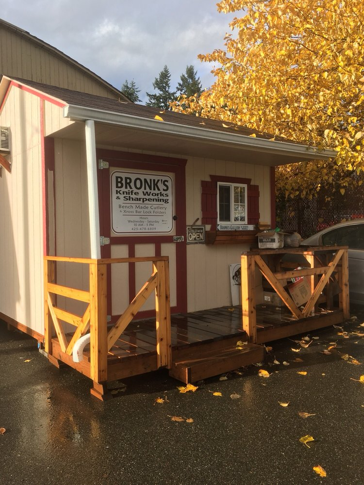 Bronk's Knife Works: 19510 Bothell-everett Hwy, Mill Creek, WA