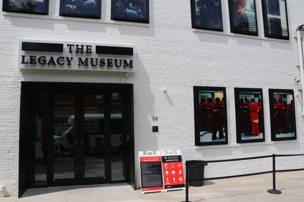 The Legacy Museum: From Enslavement to Mass Incarceration