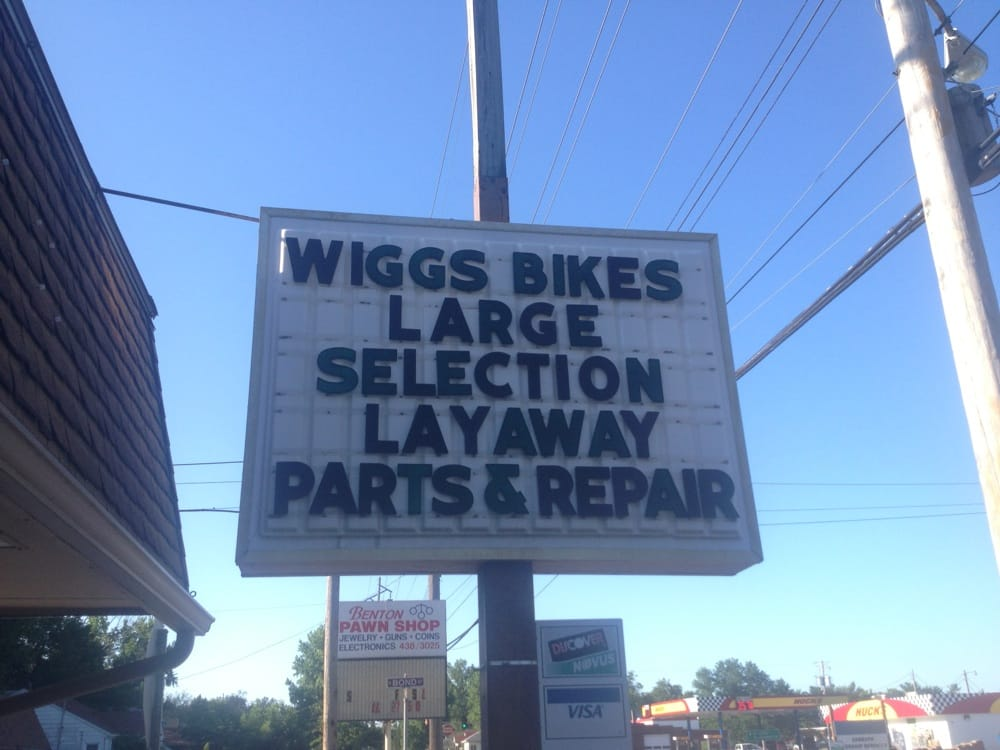 Wiggs Bicycles: 1103 N Main St, Benton, IL