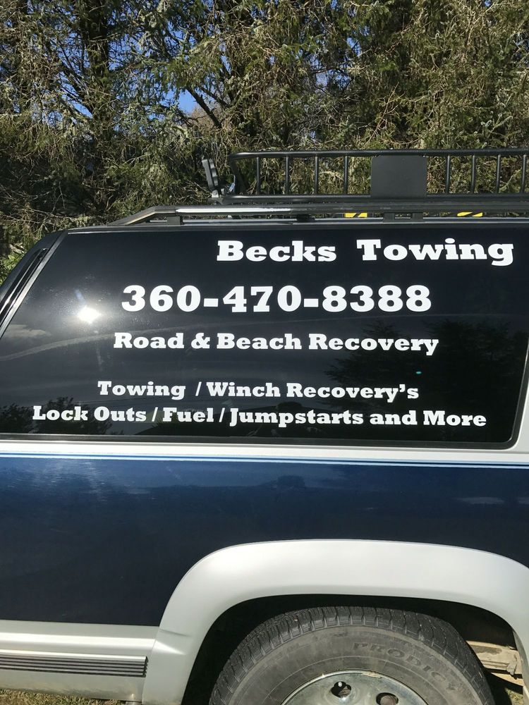 Beck's Road and Beach Recovery: 311 Clover Creek Ave NW, Ocean Shores, WA
