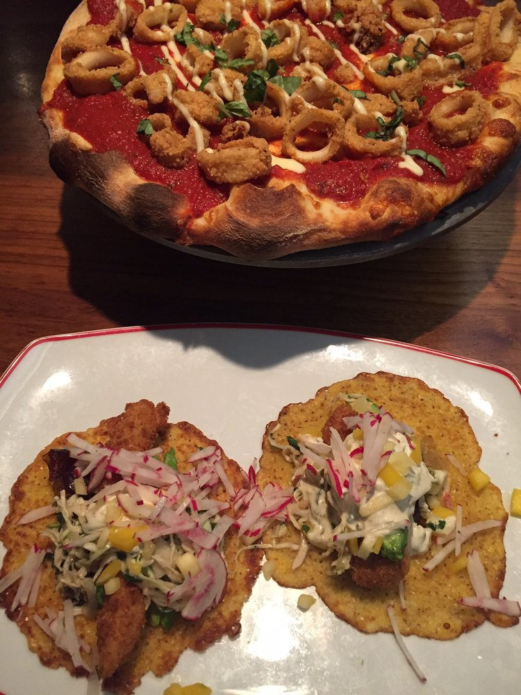 Photo of Farmers Fishers Bakers - Washington, DC, United States. Fish tacos  and