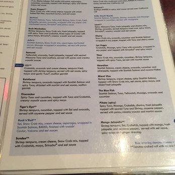 The blue fish 521 photos 552 reviews sushi 550 for Blue fish sushi menu