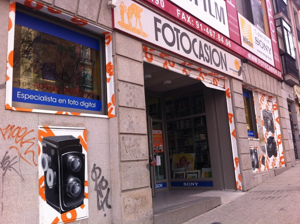 a00ae8e361 Fotocasión - 13 Reviews - Photography Stores & Services - Calle de la  Ribera de Curtidores, 22, Lavapiés y Embajadores, Madrid, Spain - Phone  Number - Yelp
