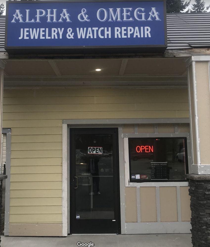 Alpha & Omega Jewelry & Watch Repair: 15317 Meridian E, Puyallup, WA