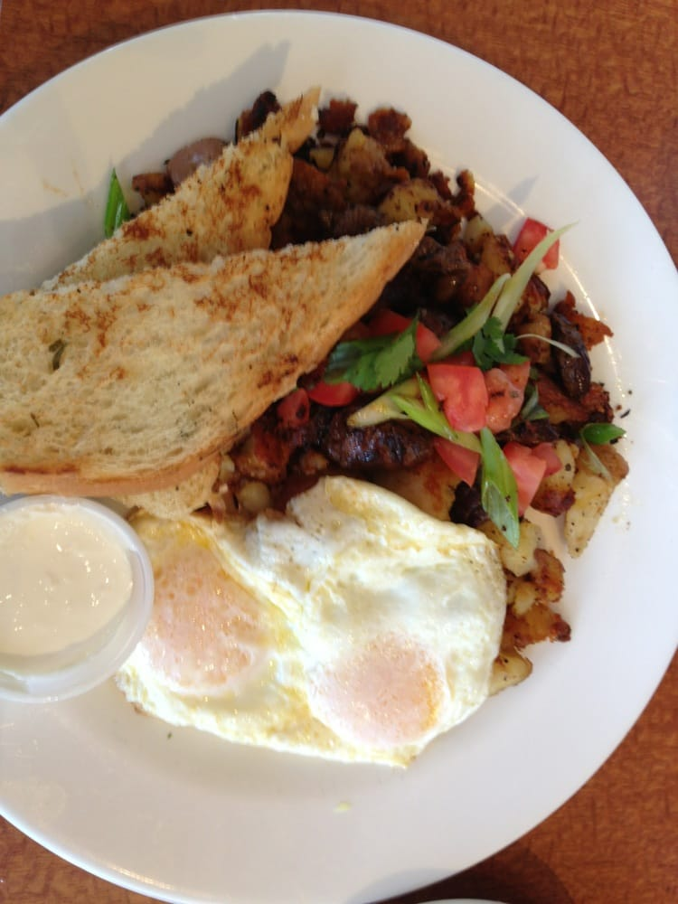 ... of The Mission Cafe - San Diego, CA, United States. Steak hash & eggs