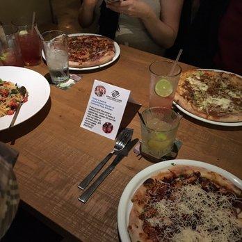Photo Of California Pizza Kitchen At Escondido   Escondido, CA, United  States. Table