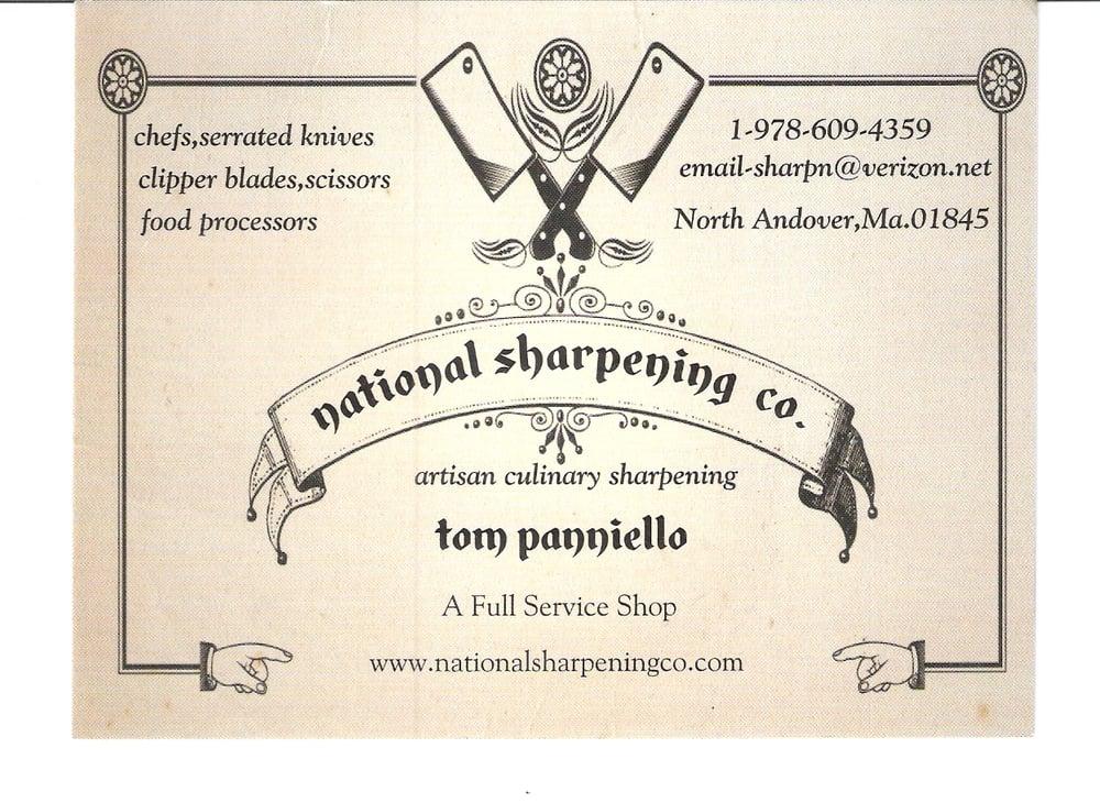 National Sharpening: 47 Stonington St, North Andover, MA