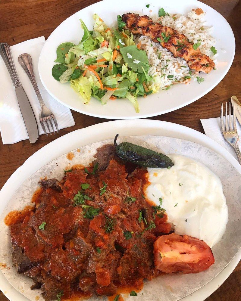 Food from Mediterranean Kebab House