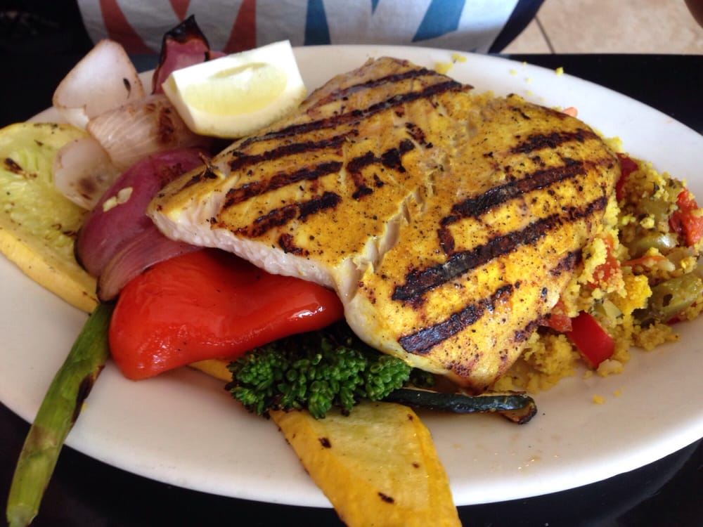 Mahi cajun rub yelp for Bluesalt fish grill