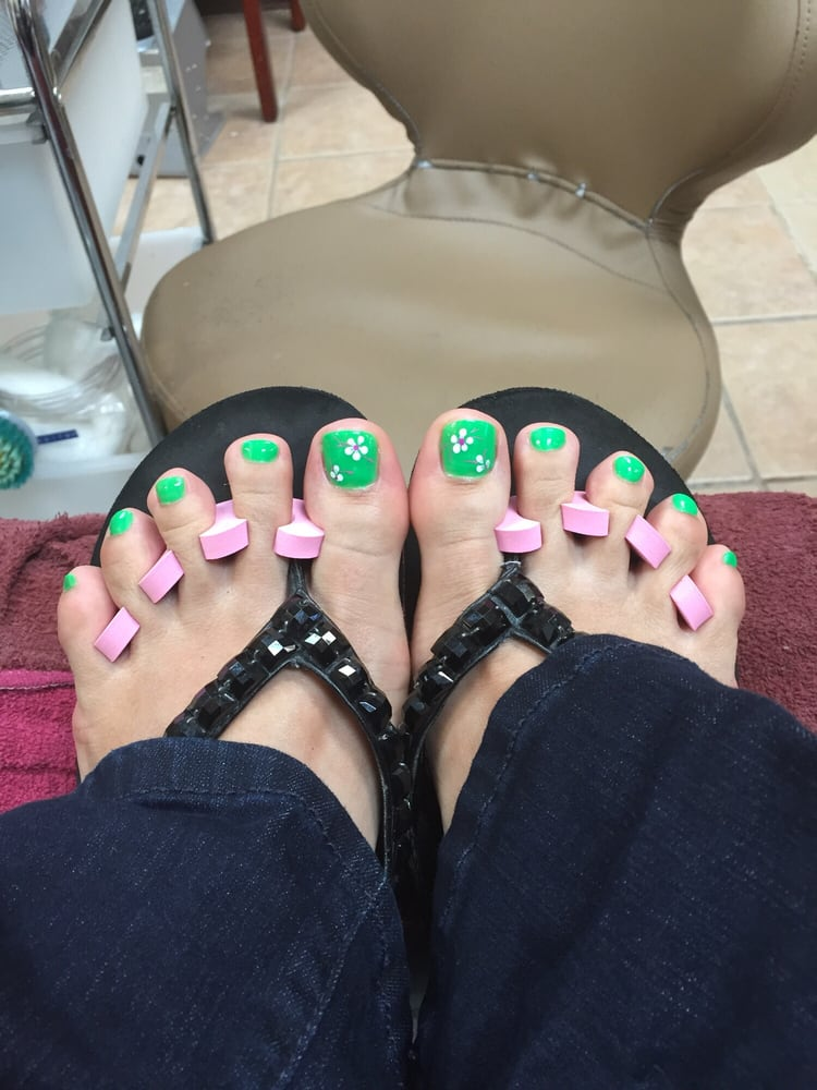 Just got my toes done! - Yelp