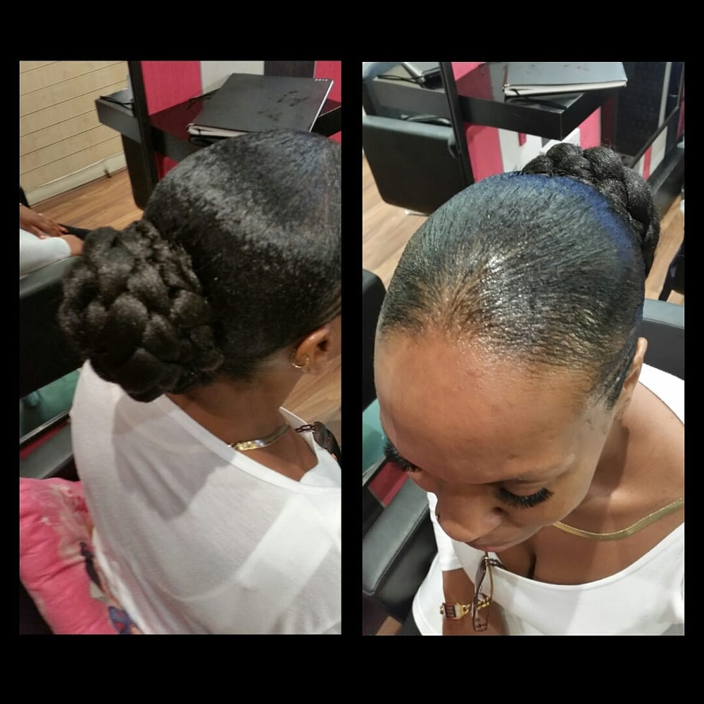 Simple ponytail with expression hair extensions by stacy yelp photo of fabulous hair beauty london united kingdom simple ponytail with expression pmusecretfo Images