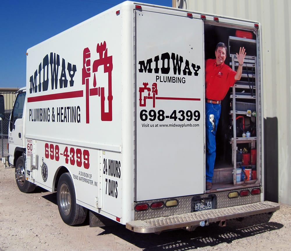 Midway Plumbing: 1017 Energy Dr, Abilene, TX