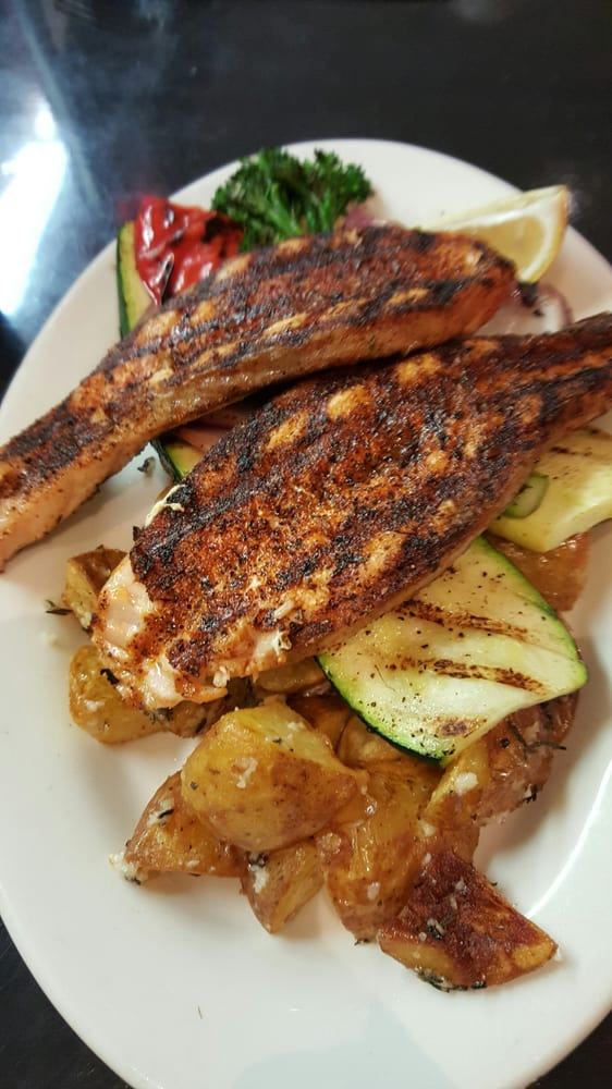 Cajun grilled salmon yelp for Bluesalt fish grill