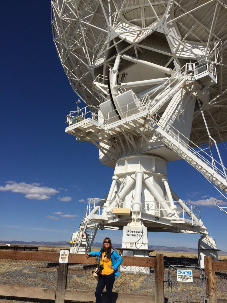 The Very Large Array Visitor Center: Old Hwy 60, Magdalena, NM