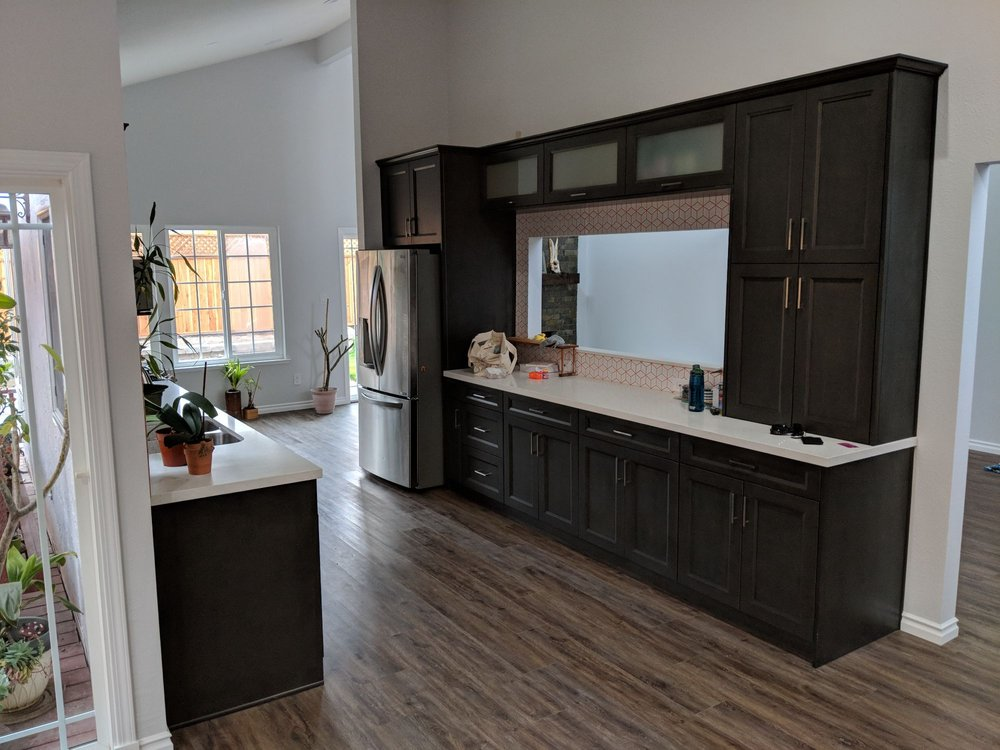 Kitchen Cabinets And Flooring From Sincere Yelp