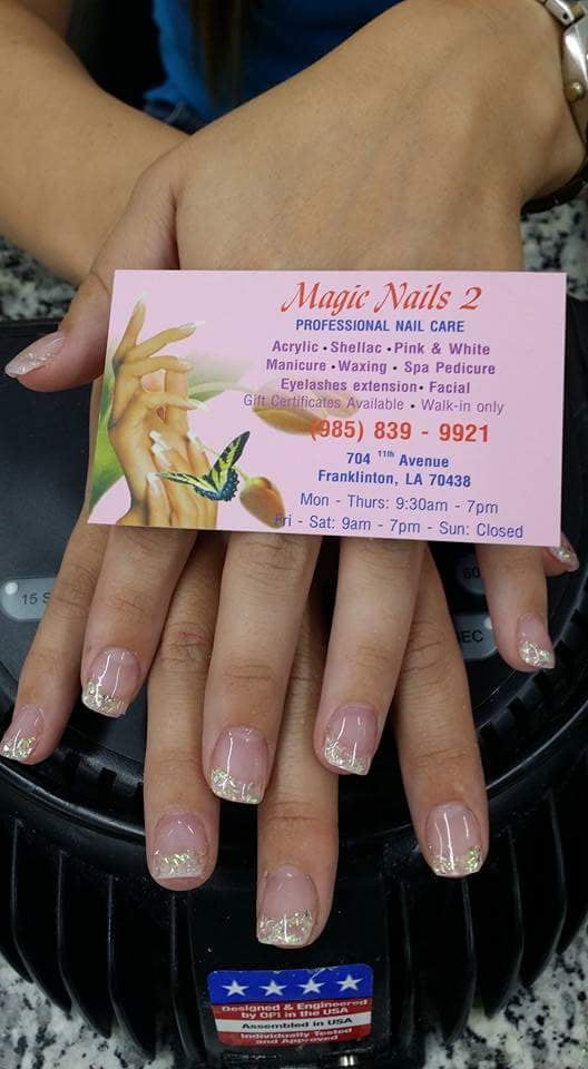 Photos for Magic nails 2 - Yelp