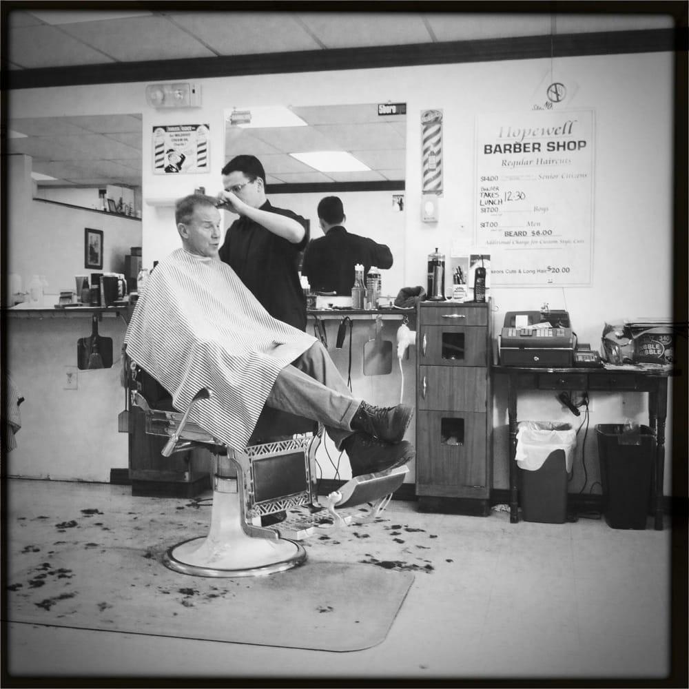 Hopewell Borough Barber Shop: 48 W Broad St, Hopewell, NJ