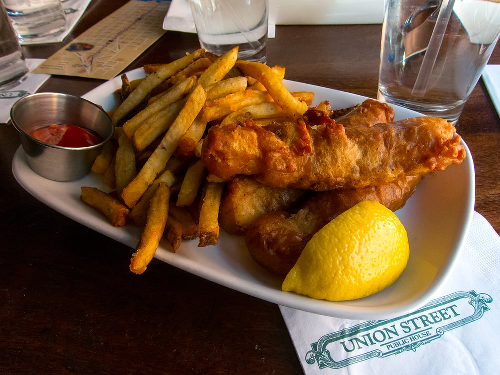 Fish and chips alexandria all about fish for Beer battered fish airfryer