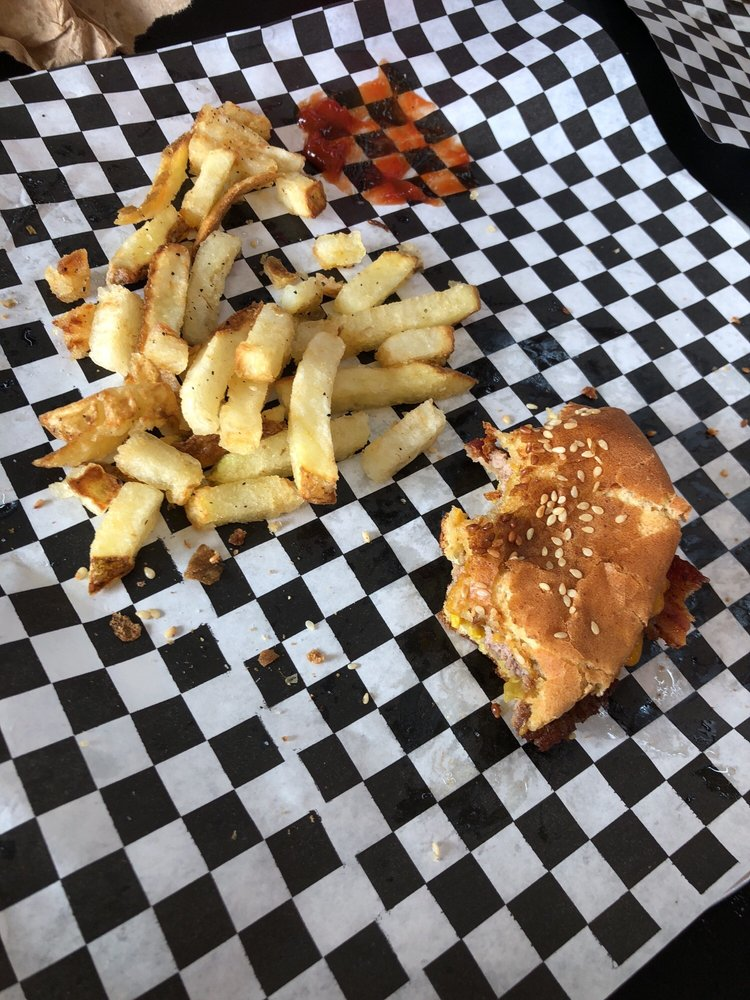 Food from Fattboy Burgers & Dogs