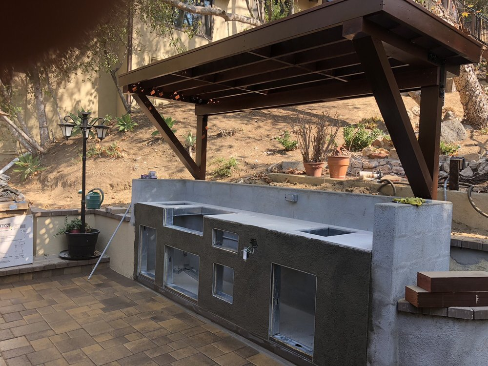 Outdoor kitchen remodeling - Yelp