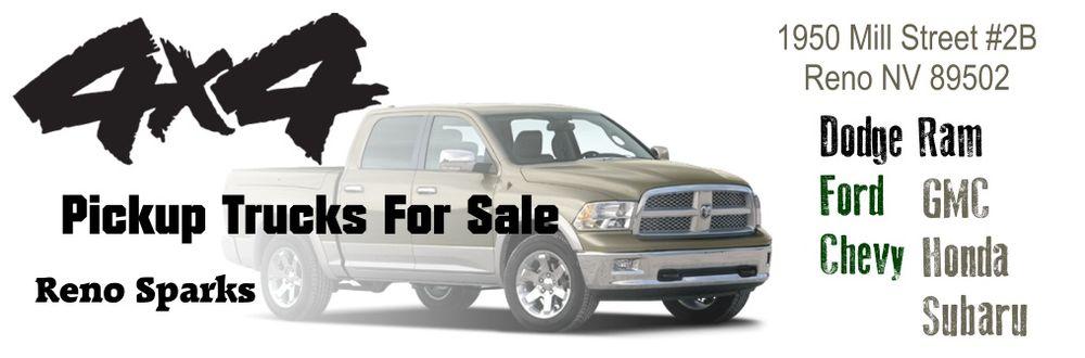 4x4 Pickup Trucks For Sale Reno Sparks