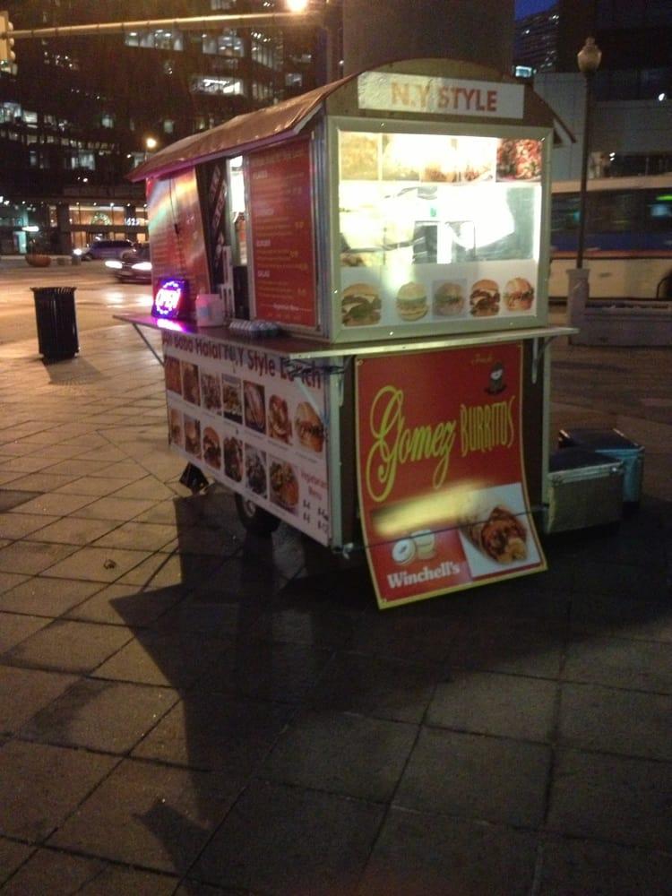 Gomez Burrito Cart: 17TH And California, Denver, CO