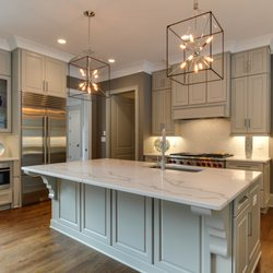 Photo Of High End Flooring Houston Tx United States Kitchen Island