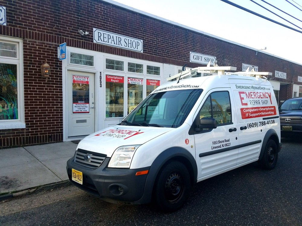 Emergency Repair Shop: 1053 Shore Rd, Linwood, NJ