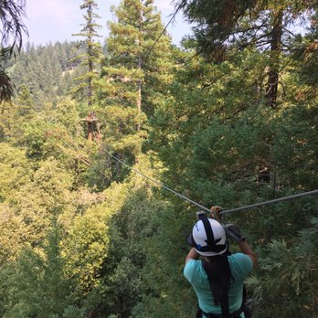 Photo of Sonoma Canopy Tours - Occidental CA United States. Ziplining away & Sonoma Canopy Tours - 258 Photos u0026 410 Reviews - Tours - 6250 ...