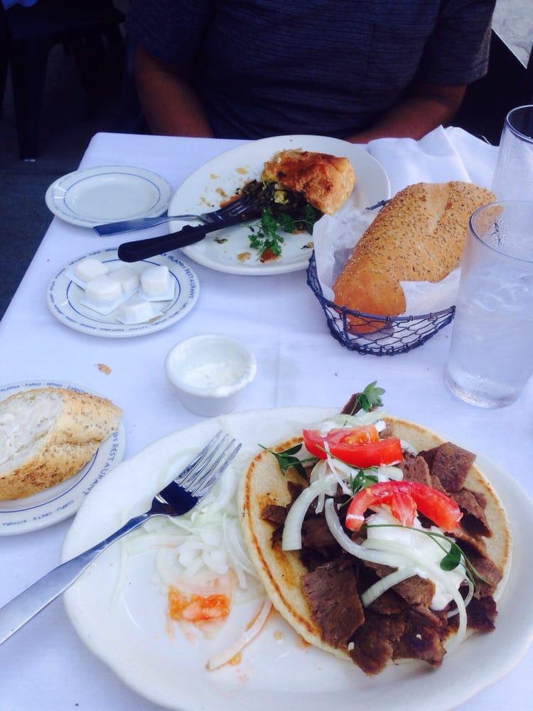 Greek Islands Chicago Menu