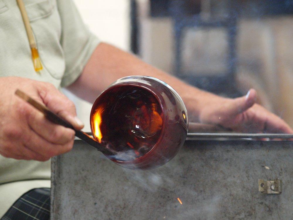 Social Spots from Sunspots Studios Glassblowing