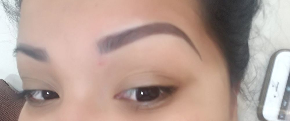 Perfect Arched Microbladed Eyebrows By Liz Yelp