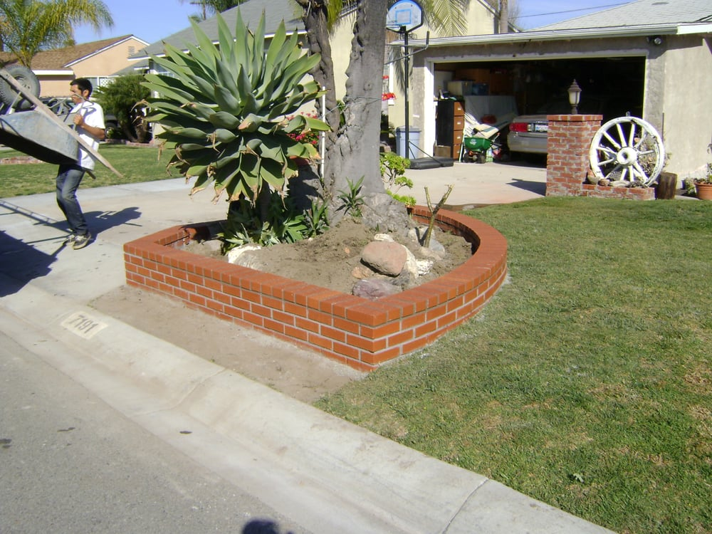 Brick Planter Yelp
