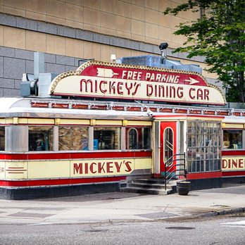 Photo Of Mickey S Diner Saint Paul Mn United States Awesome Retro