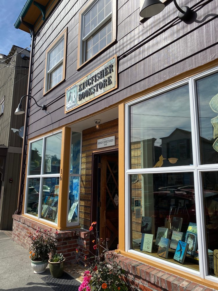 The Kingfisher Bookstore: 16 NW Front St, Coupeville, WA