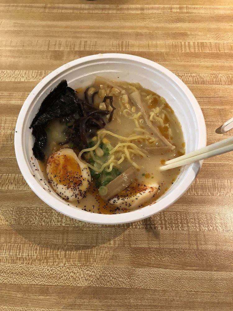 Food from Roc City Ramen