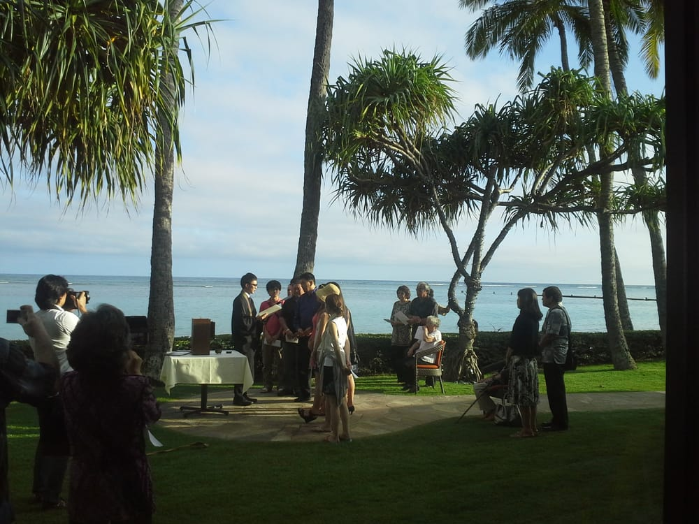 Wedding Rehearsal With A Shinto Priest
