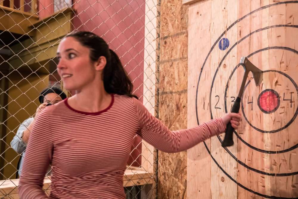 Bad Axe Throwing: 165 N Loomis St, Chicago, IL