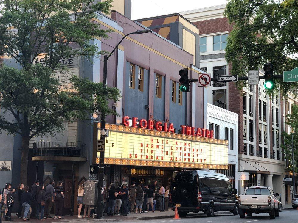 Georgia Theatre: 215 N Lumpkin St, Athens, GA